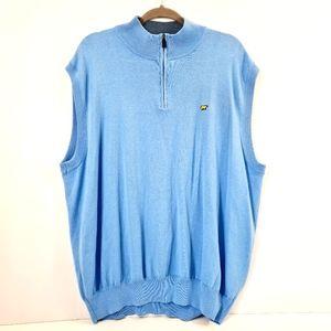 Jack Nicklaus Gold Sweater Vest Sky Blue Size XXL